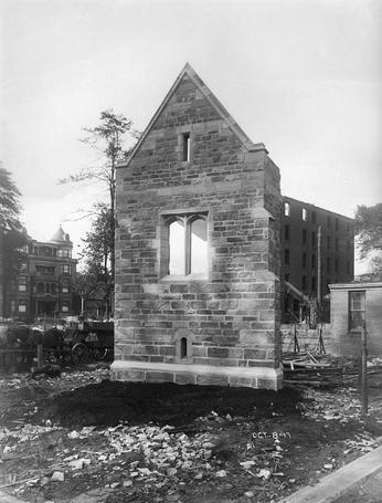 1917 Historical Image, Sample Wall, Yale University